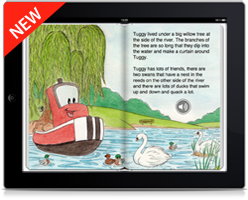 NEW Tuggy and Friends ebook for iPad
