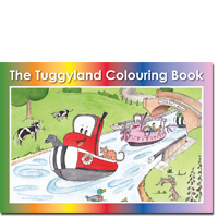 The Tuggyland Colouring Book
